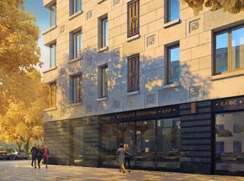 Первые этажи домов займут коммерческие помещения